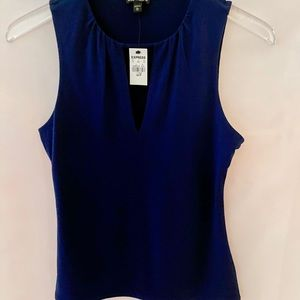 EXPRESS NAVY TANK TOP SIZE SMALL